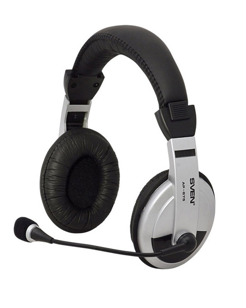 Headphones with microphone SVEN AP-875