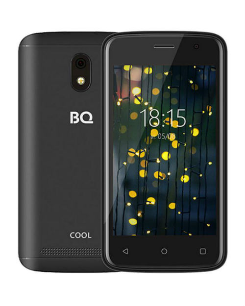 "Смартфон BQ-4001G Cool Чёрный 4""/800х480WVGA/Spreadtrum 7731E,4ядра/521Mb+16Gb/5+2MP/2800 мАч/3G"