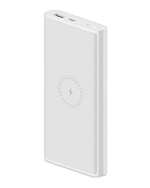 POWERBANK 10000MAH (WHITE) Wireless