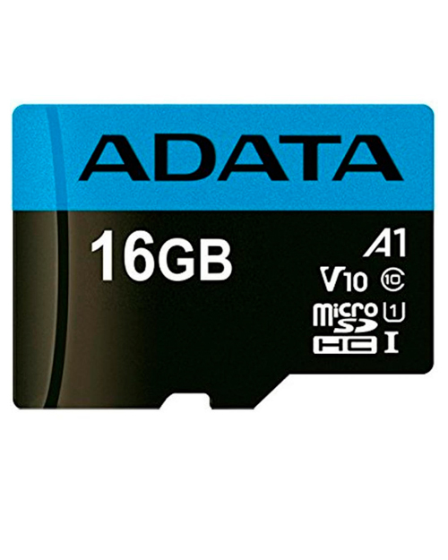 ADATA microSDHC,16GB, UHS-I Class 10 A1 + SD-adapter
